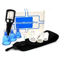 New Masculino Penis Enlarger Extender punho da bomba ventosas Master Pro Enlarger Masculino Alargamento Maca Enhancement com Belt CX200805