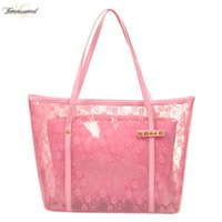 New Transparent Jelly Lace Bag For Ladies, Single Shoulder B...