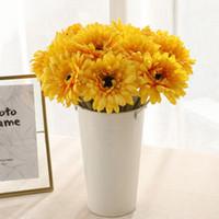 Fiore artificiale del Gerbera fiori di seta 30 centimetri Colorful pastorizia Home Decor Fake Flowers 10 colori decorazione matrimoniale con fiori