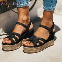 SARAIRIS Summer Casual Beach Sandals Fashion Design Platform...