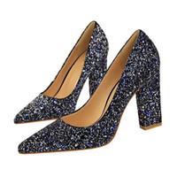 1dcd25be55d8 Wholesale black sparkle shoes for sale - Dress Eoeodoit Hot Sale Women  Party Braid Shoes Fashion