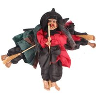 Horrible Hanging Witch Ghost Halloween Decoration Festival B...