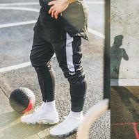 Pantalones para hombres pantalones de chándal sólidos hombres casuales hombres largo jogger chándals fondos hombre 2021 streetwear pantalón pantalón pantalón ropa deportiva deportista