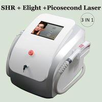 SHR opt la depilación súper rápido SHR IPL tratamiento del vello con láser Elight rejuvenecimiento de la piel máquina de la E-luz IPL Laser Skin Care