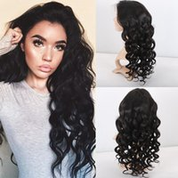 Lace Front Wigs Pre Plucked Hairline Baby Hair Body Wave Vir...