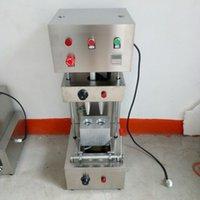 Vendas direto da fábrica de dois espiral cone de pizza máquina cone handheld cone de aço inoxidável que faz a máquina de pizza