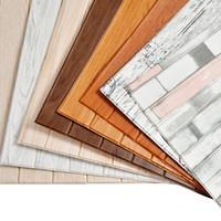 3D Деревянные Стикера Стены Home Decor PE Пены Водонепроницаемые Покрытия Для Стен Самоклеющиеся Обои Для Гостиной Спальни 3D Стеновые Панели