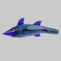 good quality new design Dark blue Oceanic sharks design hand...