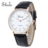 Skute Classic Simple Design Couple Quartz Wristwatch Watch W...