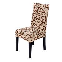 1PC Universal-Spandex Polyester Anti-dirty-Kasten Abnehmbare Stretch Esszimmer-Stuhl-Abdeckungs-Schutz Slipcover Elastic Stuhl-Sitz