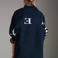 Best Version Luxury Back Letter Logo Sweater Retro Street Co...