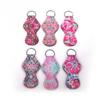 Lilly Neoprene Chapstick Holder Floral Printed Pulitzer Keyc...