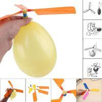 Śmieszne Tradycyjny Klasyczny Dźwięk Latający Balon Helikopter UFO Dzieciaki Dziecko Dzieci Graj latający Zabawki Ball Zabawa Zabawki Dla Dzieci Zabawki Xmas Prezent A5000
