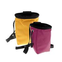 Hohe Kapazität Kreide Tasche Mode Anti Wear Pinkycolor Solide Klettern Im Freien Praktische Falten Universal Portable Factory Direct 13