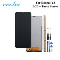 ocolor For Doogee Y8 LCD Display and Touch Screen Digitizer Assembly Replacement With Tools +Adhesive For Doogee Y8 Phone