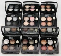 Yeni Makyaj Göz Farı 4 Renk Göz Farı Paleti 2G yüksek-pigmentli toz