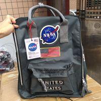 Marque Sacs à dos NASA 19SS Sac à dos National Drapeau National Mens Femmes Designer Sacs Unisexe Sols Sac