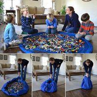 والطفل تلعب حصيرة التخزين أكياس لعب الاطفال منظم لعب ماتس اللعب المحمولة بطانية البساط صناديق منظمة هدايا عيد الميلاد GGA1429
