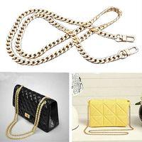 حقيبة سلسلة 120CM الشريط اليدوية الكتف حقيبة سلسلة استبدال الحزام الذهبي حقيبة متعلقات