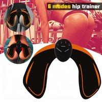 EMS HIP 트레이너 근육 자극기 ABS 피트니스 엉덩이 엉덩이 리프팅 엉덩이 토너 트레이너 슬리밍 마사지기 J1755