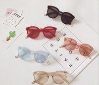 الاطفال نظارات 2020 جديدة الفتيات نظارات شفاف نظارات الأطفال الأشعة فوق البنفسجية نظارات واقية أزياء الفتيات كول شاطئ نظارات A2877