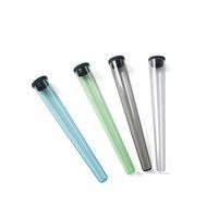 Plástico King Size Doob Tube Fumar Accesorios Fumadores Impermeable Cigarrillo Sólido Almacenamiento Sólido Píldora Píldora Píldora 2 Estilos Elija