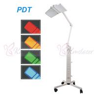 4 farben 120 mw pro licht pdt led lichttherapiegerät photon led lichttherapie gesichtsbehandlung maschine mit rot blau gelb grün 610 stücke