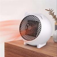 Mini 250W Radiateur électrique portatif chaud hiver chaud Ventilateur de chauffage personnel pour Home Office céramique Petit chauffe-UE US Plug