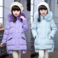 winter Fashion Girl' s Down jackets coats baby Girl wint...