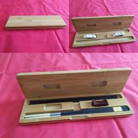 Woodiness Essstäbchen-Kasten zwei Paare zwei Gestelle umweltfreundliche tragbare Aufbewahrungsboxen fest wiederverwendbar mit hoher Qualität 14qh J1