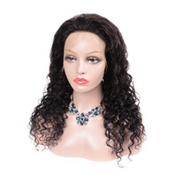 Deep Wave Lace Front Wig 13x4 Frontal Pre Plucked With Baby ...