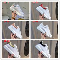 moda lüks tasarımcı kadın ayakkabı 3M yansıtıcı UK Platformu Yılan Cilt erkek ayakkabı tasarımcısı üçlü siyah beyaz Kadife gündelik ayakkabılar