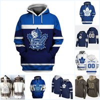 91 John Tavares Toronto Maple Leafs Hoodies Jersey 16 Mitch Marner 11 Zach Hyman 31 Frederik Andersen Nazem 43 Kadri Hokey Formaları