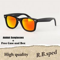 474e2e6d0d7 Brand Designer glass lens Sunglasses women Men UV400 Protection Outdoor  Sport Vintage Sun glasses Retro Eyewear with box and cases