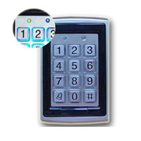 Metalen RFID-lezer 125KHz Nabijheid Deurtoegangscontrole Toetsenbord 7612 Ondersteuning 1000 Gebruikers Elektrisch Digitaal wachtwoord Deurslot