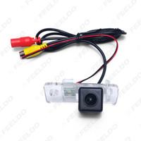 LEEWA Специальная автомобильная камера заднего вида для Audi A3 (2012 ~ настоящее время) / A6 (2004 ~ 2011) Sedan Парковка Камера # 4361