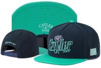 Cayler SonsスナップバックヒップホップキャップCSBLボーンブルックリン良い雰囲気専用新しいデザインCayler Sons野球調節可能なキャップ帽子