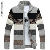 TIMESUNION Herren Strickpullover Strickjacken Kragen Winter Wollpullover Mode Strickjacken Männliche Pullover Mantel Marke Herrenbekleidung