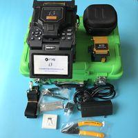 أحدث 6 المحركات الأساسية المحاذاة FTTH الألياف الربط i3 آلة لحام الألياف البصرية