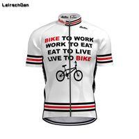 LairschDan Nuevo 2020 para hombre Jersey de ciclo tops frescos camisa blanca bici de Mtb ropa Pro bicicletas de manga corta Hombre