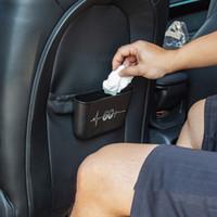 Araç İç Çöp Kutusu Asma Saklama Kutusu Araç Şekillendirici Aksesuarları İçin MINI Cooper S F54 F55 F56 F60 R55 R56 R60 R61
