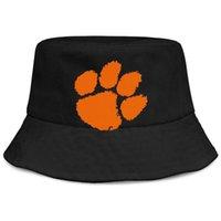 Moda Clemson Tigers Logo Unisex Bucket Bucket Hat Cool Cute Fishman Playa Visor vende Bowler Cap College Football Playoff 2018