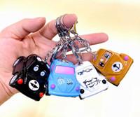 سبيكة نموذج سيارة الكلاسيكية بيتل جيب رانجلر سيارة المجوهرات المفاتيح الأطفال q طبعة مصغرة الكرتون الكلب سيارة لعبة معدنية