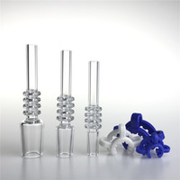 10mm 14mm Quartz Nectar Collector Tips Honey Straw Drop Quar...