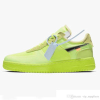 nike off white air force 1 2019 Nuovi arrivi Volt 2.0 Running Forces Shoes Donna Mens Trainers Forced One Sports Skateboard Classic 1 Green White Black Warrior Sneaker