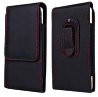 Nuevo bolso de clip de cinturón de paquete de cintura para hombre para iPhone 8 7 6 6s plus funda funda para Samsung Huawei htc funda clásica para teléfono