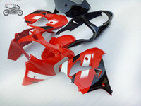 Personalizza kit di carenatura per Kawasaki Ninja ZX9R 2000 2001 Red Black Fairing Kit 00 01 ZX 9R ZX9R
