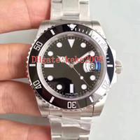 4 Estilo Melhor Qualidade NF V11 Versão 40mm 116610 116619 114060 116610ln 116610lv Cerâmica Cal.3135 Movimento Automático Mens Watch Watches