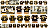 Boston Vintage Bruins Jersey 30 CHRIS NILAN 8 Ken Hodge 7 Phil Esposito 24 Terry O'Reilly 12 Wayne Cashman 18 Happy Gilmore CCM Hockey Retro