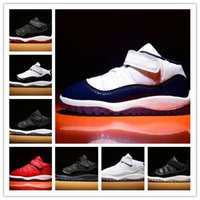 top quality kids Gym Red XI 11 Toddler shoes Bred Space Jam ...